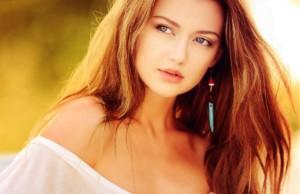 美しい女性の写真