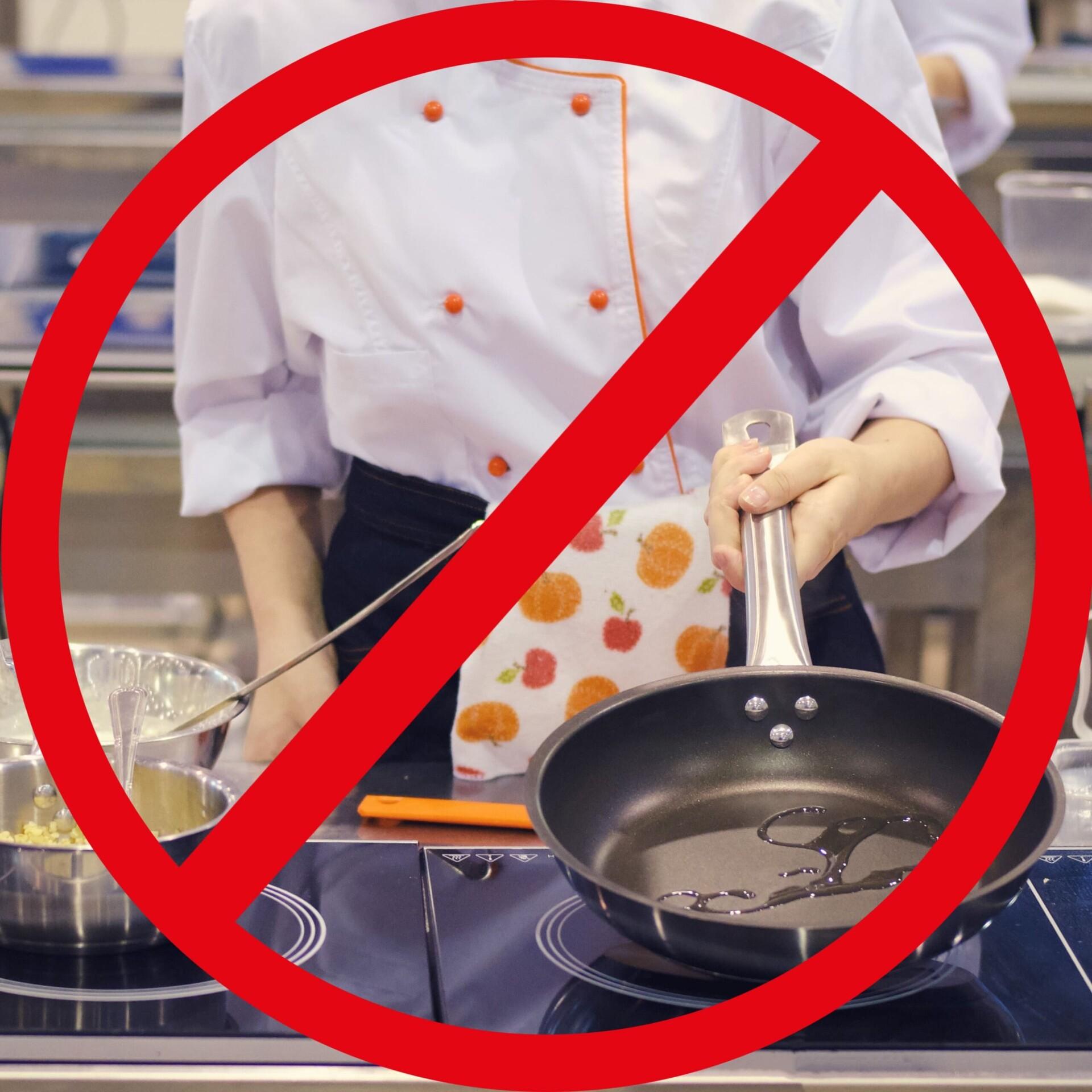 名古屋市昭和区 パーソナルジム 間違った調理法の写真