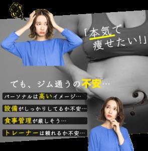 昭和区でオススメのパーソナルジムを探してるけど不安。パーソナルは高いイメージがある。設備がしっかりしてるか。食事管理が厳しそう。トレーナーは頼れるのか不安。